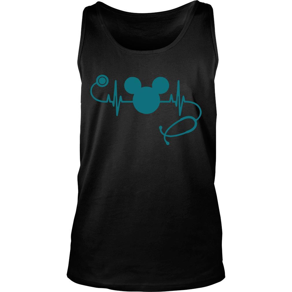 Mickey Mouse Nurse Heath Shirt tank top