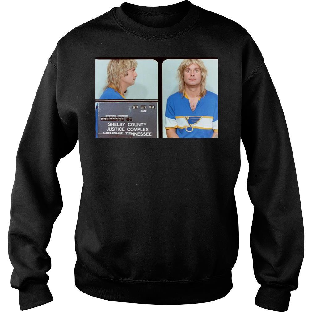 Ozzy Osbourne St.Louis Blues shirt sweater