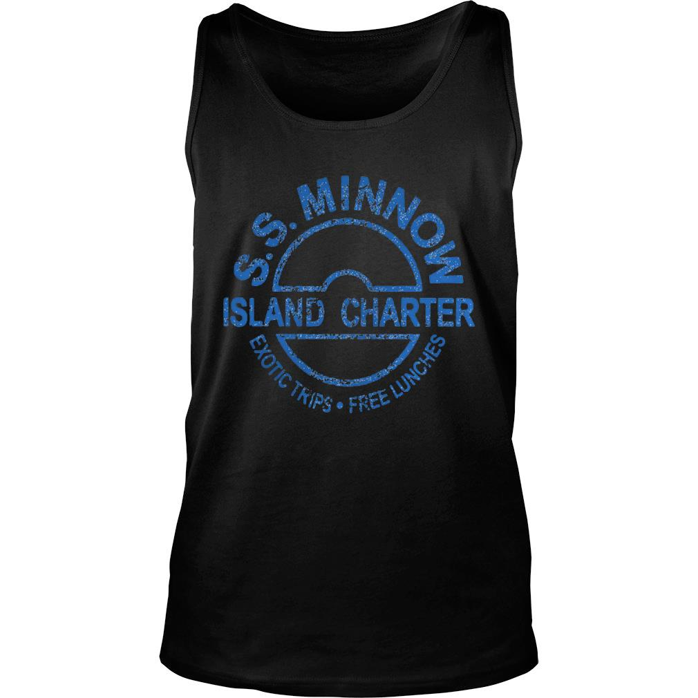 S S Minnow Island Charter Exotic Trips Free Lunches Shirt tank top