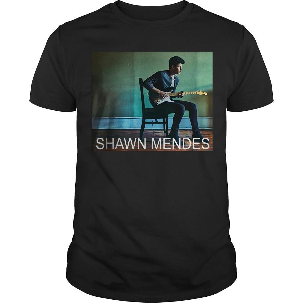 Shawn Mendes three empty words Lyrics shirt