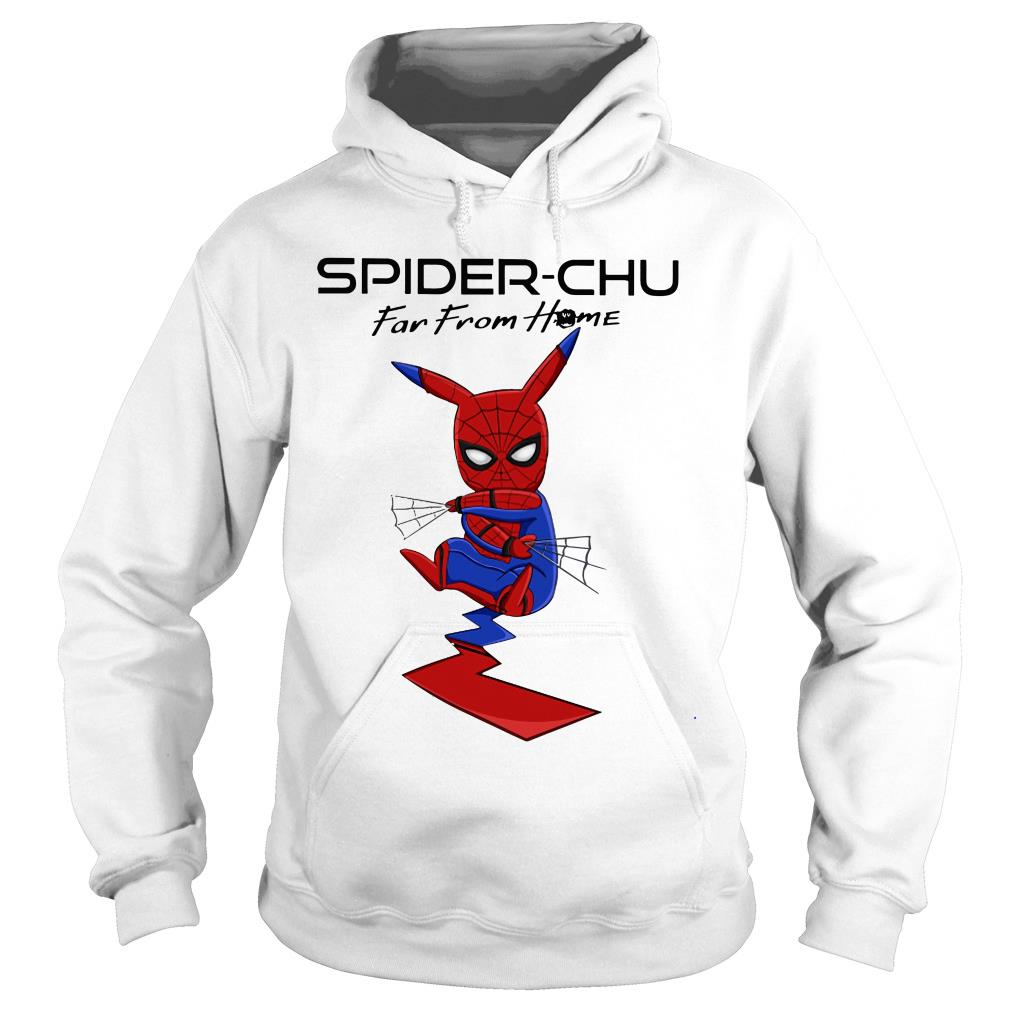 Spider-chu far from home shirt hoodie