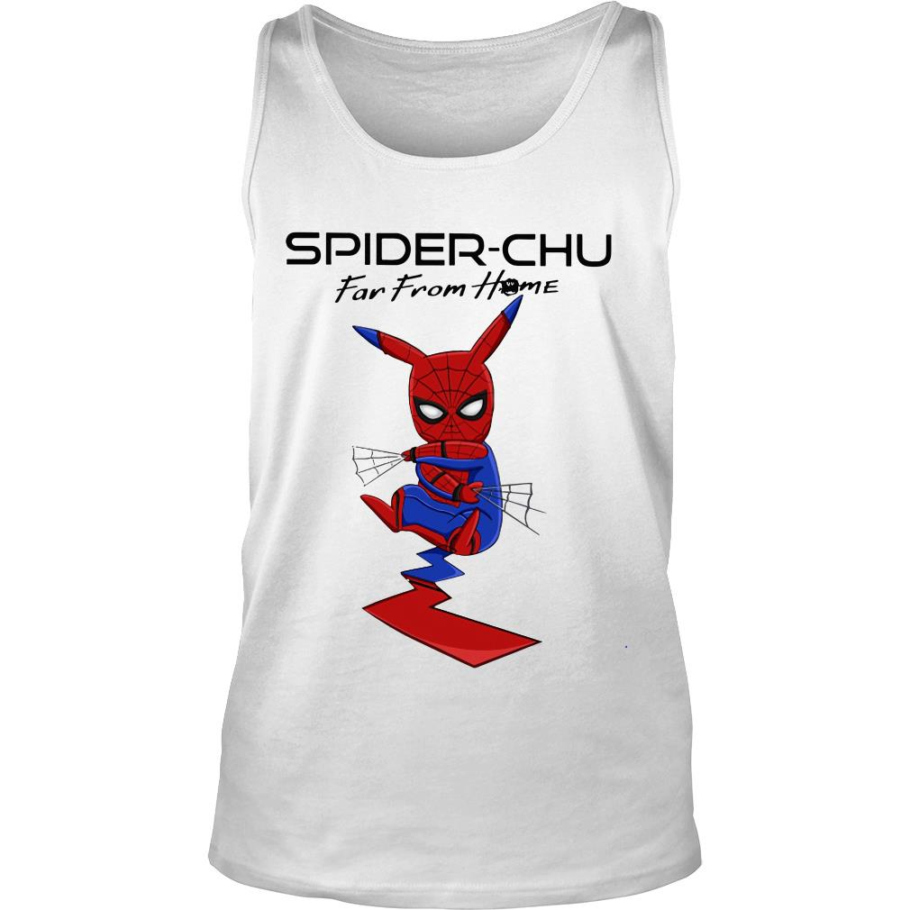 Spider-chu far from home shirt tank top