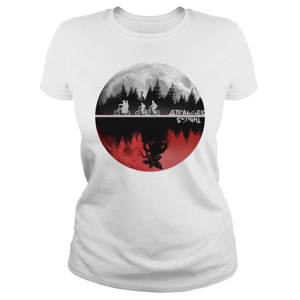 Stranger Things Summer in Hawkins shirt ladies tee