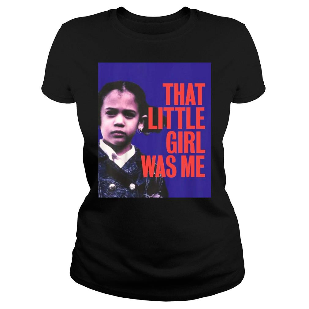 That Little Girl Was Me Shirt Kamala Harris 2020 shirt ladies tee