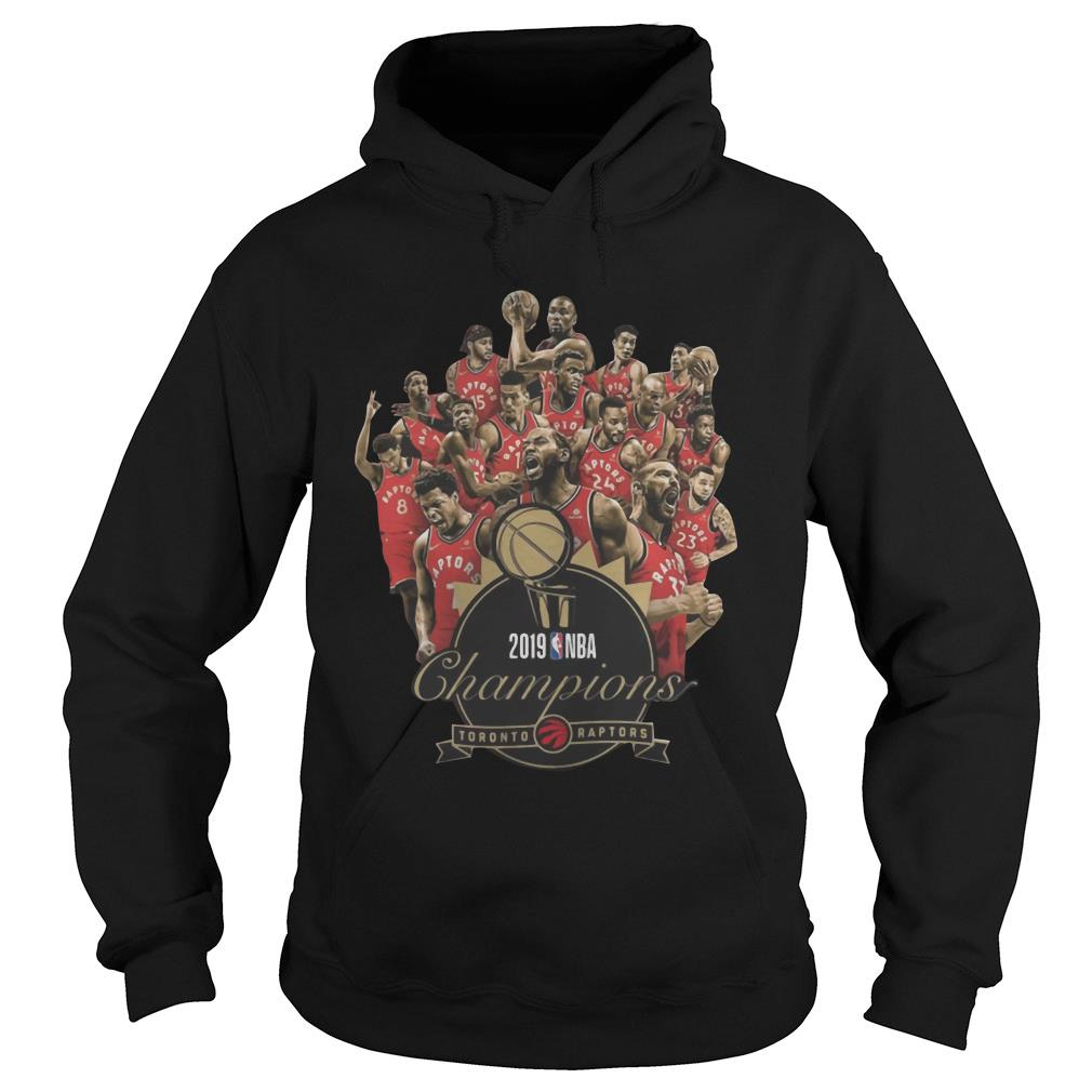 Toronto Raptors Champions of NBA 2019 shirt hoodie