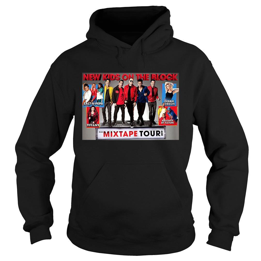 Trends Vintage New Kids New On The Blocks Mixtape Tour 2019 Shirt hoodie