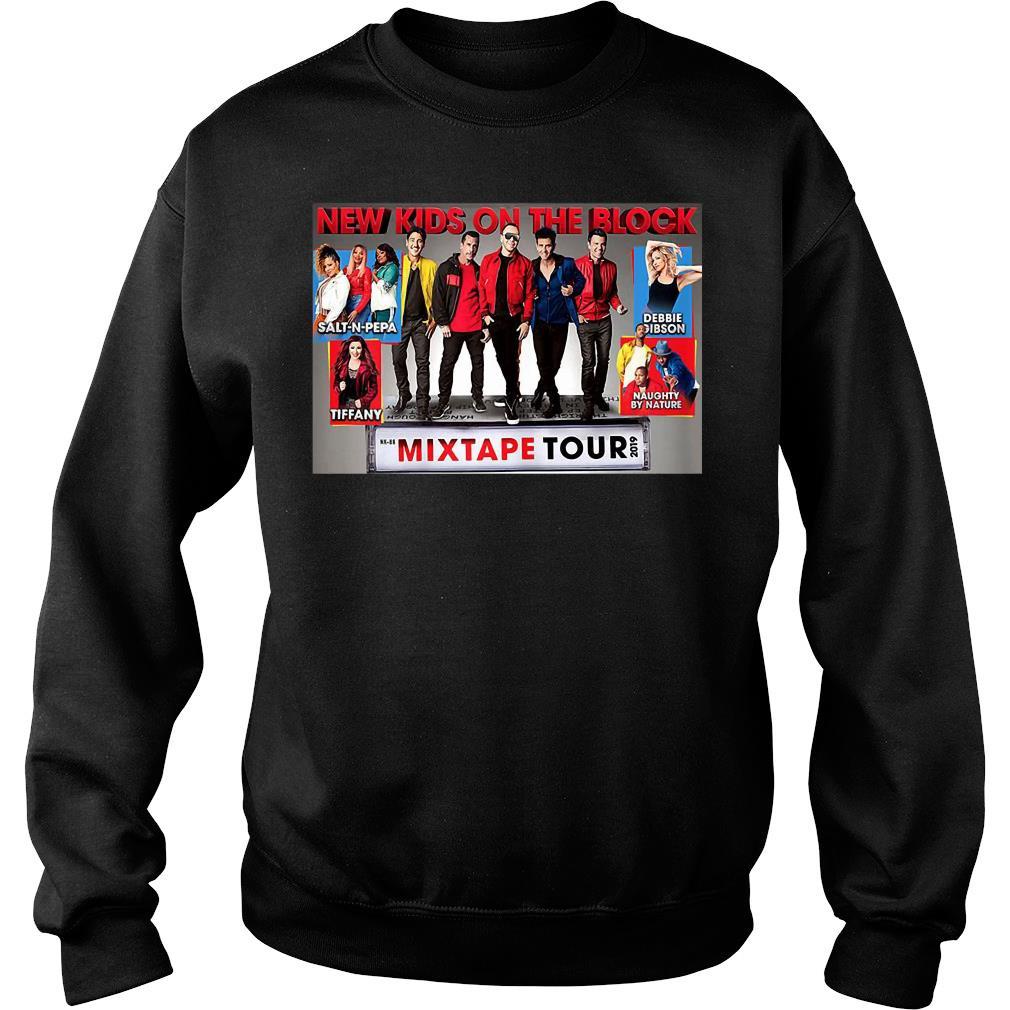 Trends Vintage New Kids New On The Blocks Mixtape Tour 2019 Shirt sweater