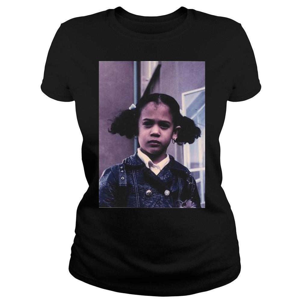 hat Little Girl Was Me Shirt Kamala Harris shirt ladies tee