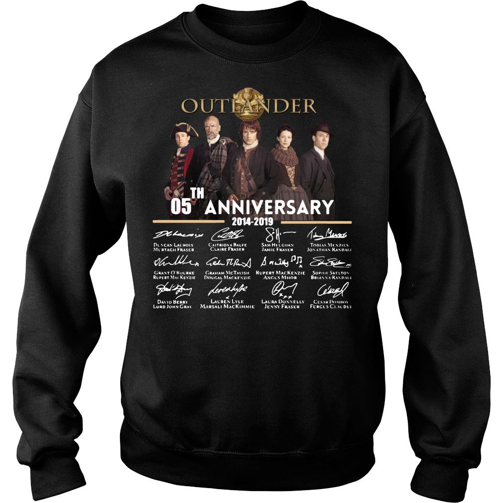 05th Anniversary Outlander Signature Shirt sweater