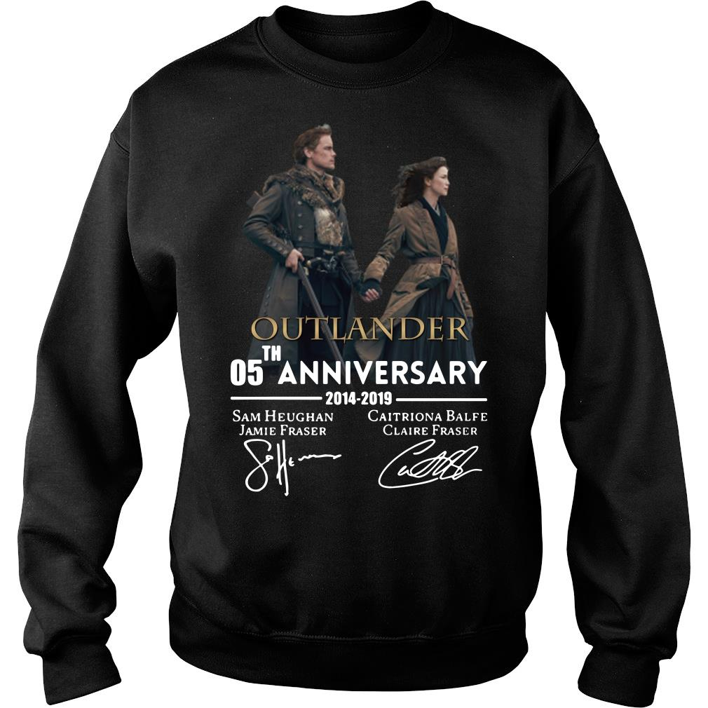 05th anniversary outlander shirt sweater