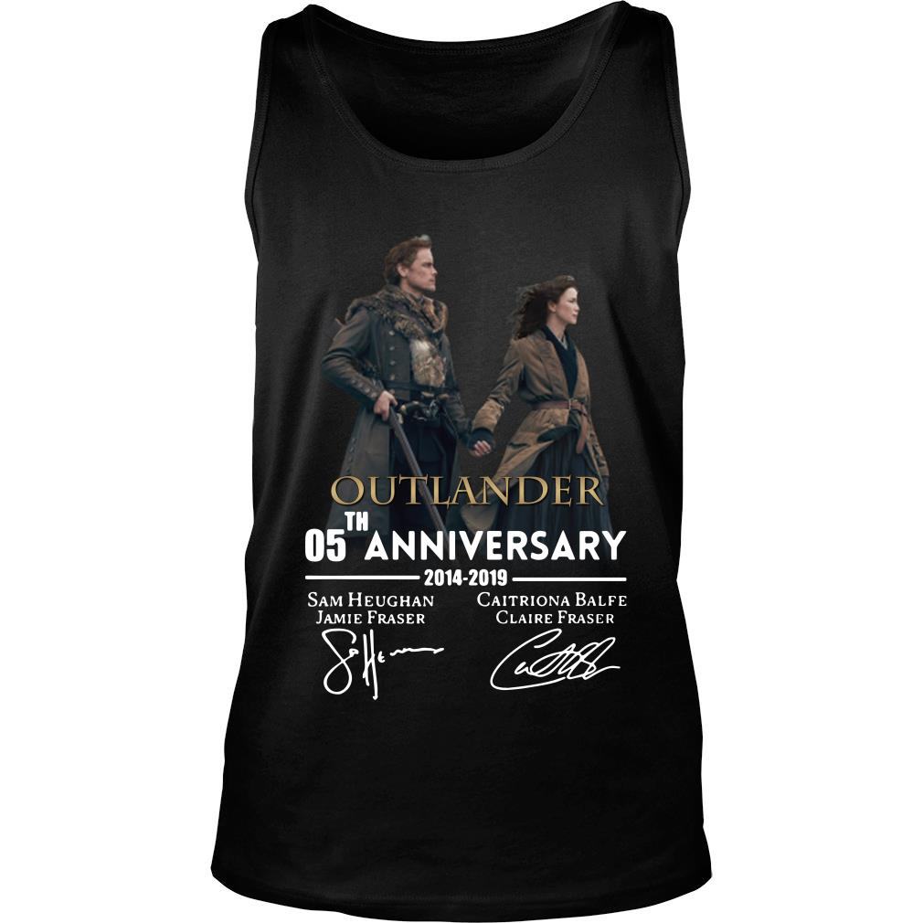05th anniversary outlander shirt tank top