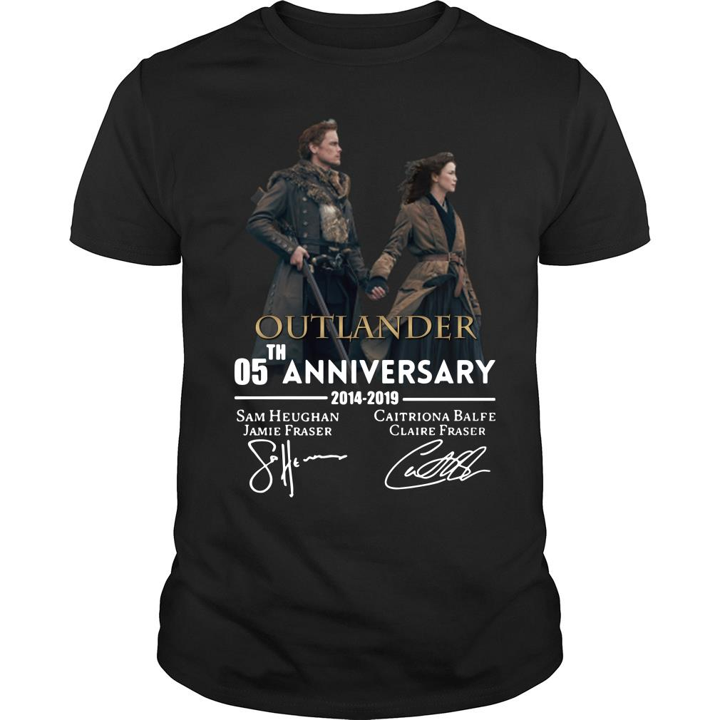 05th anniversary outlander shirt