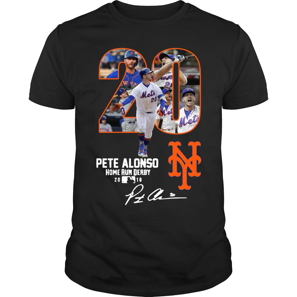 20 Pete Alonso Home Run Derby 2019 New York Yankees Shirt
