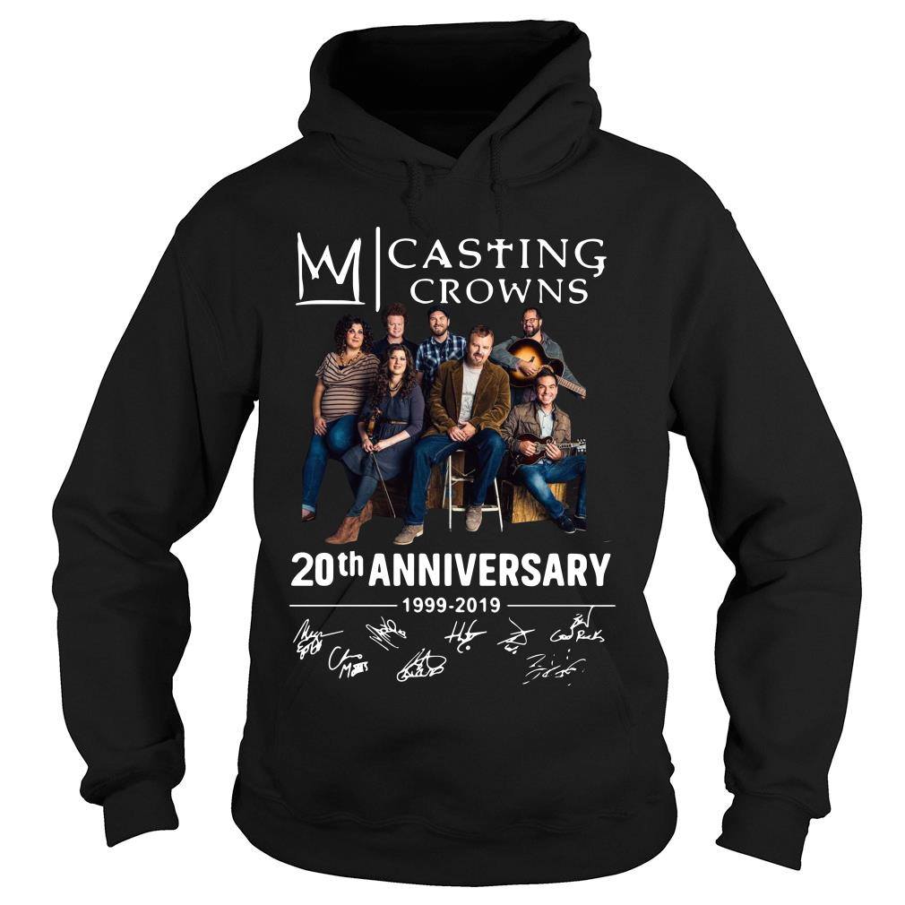 Casting Crowns 20th Anniversary 1999 2019 Signature Shirt hoodie