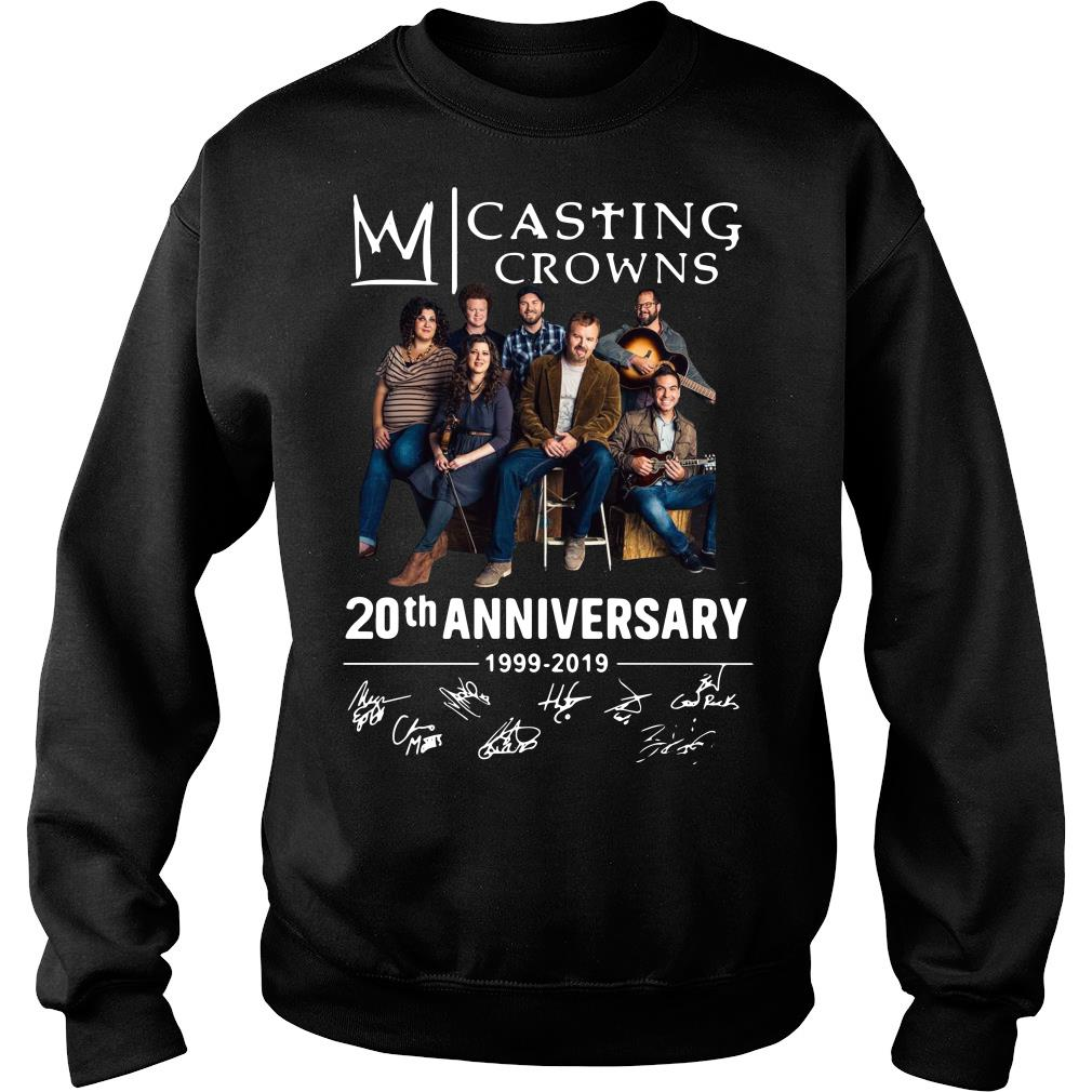 Casting Crowns 20th Anniversary 1999 2019 Signature Shirt sweater
