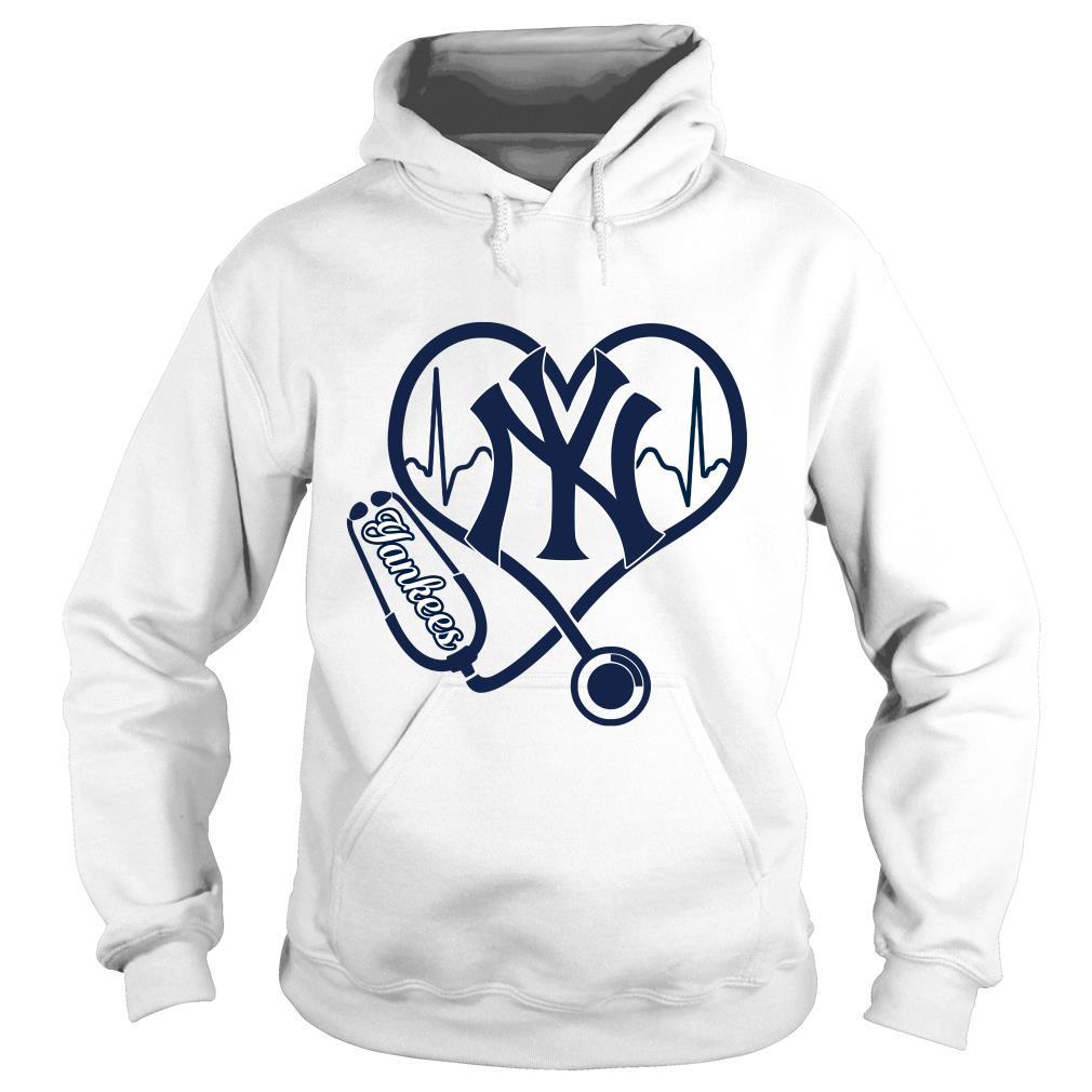 Nurse Love New York Yankees Shirt hoodie