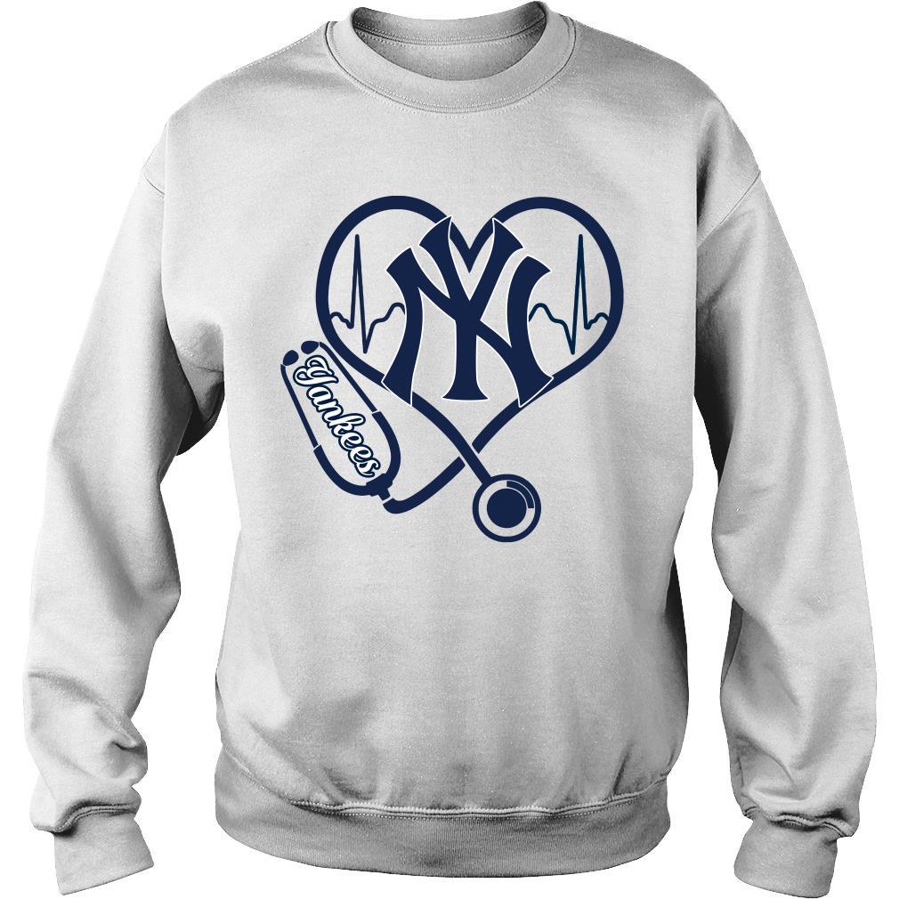 Nurse Love New York Yankees Shirt sweater