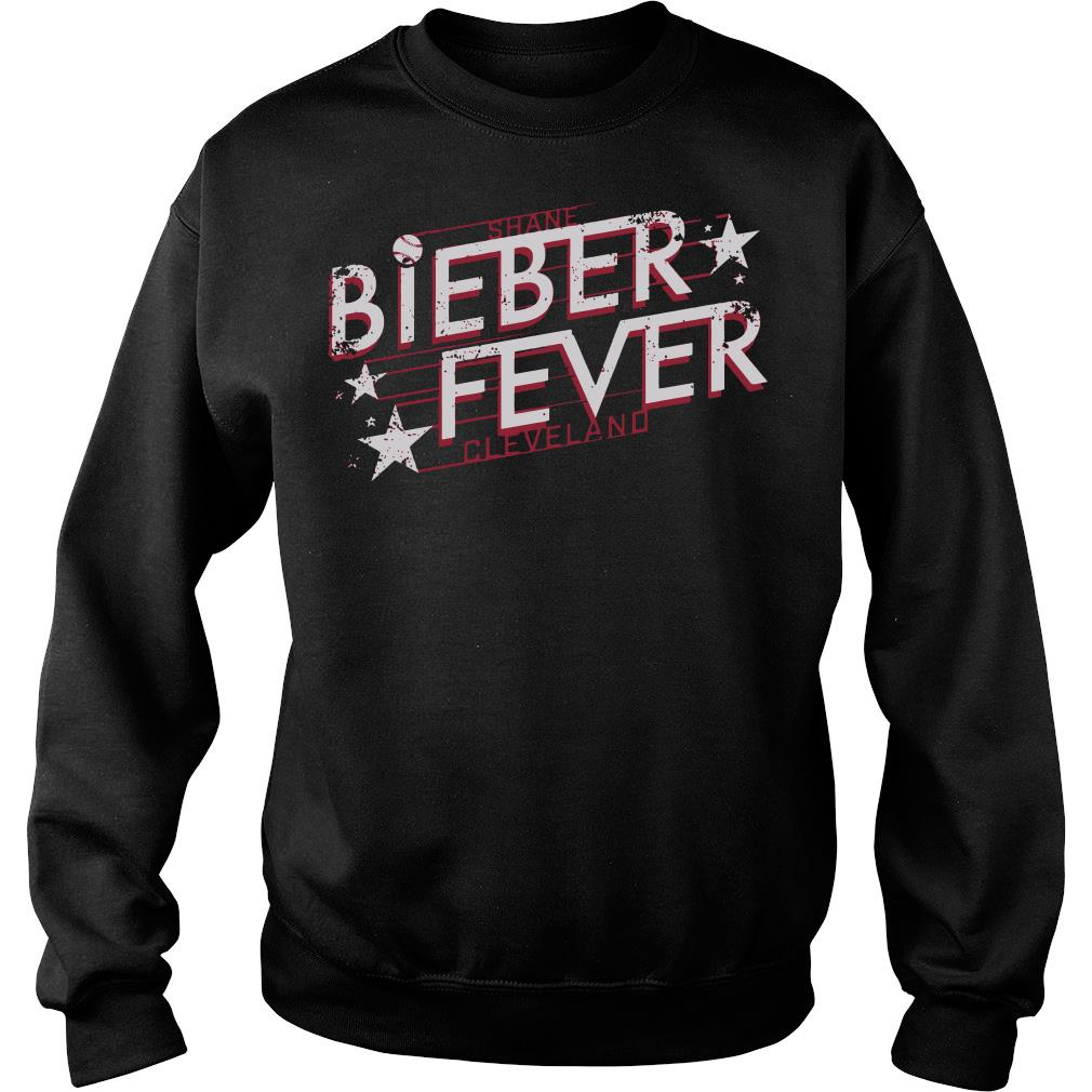 Shane Bieber fever cleveland shirt sweater