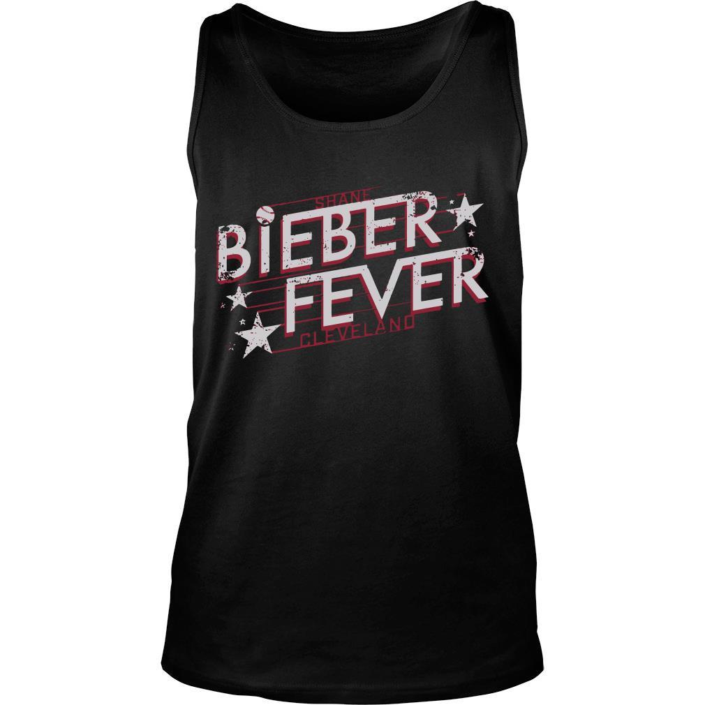 Shane Bieber fever cleveland shirt tank top