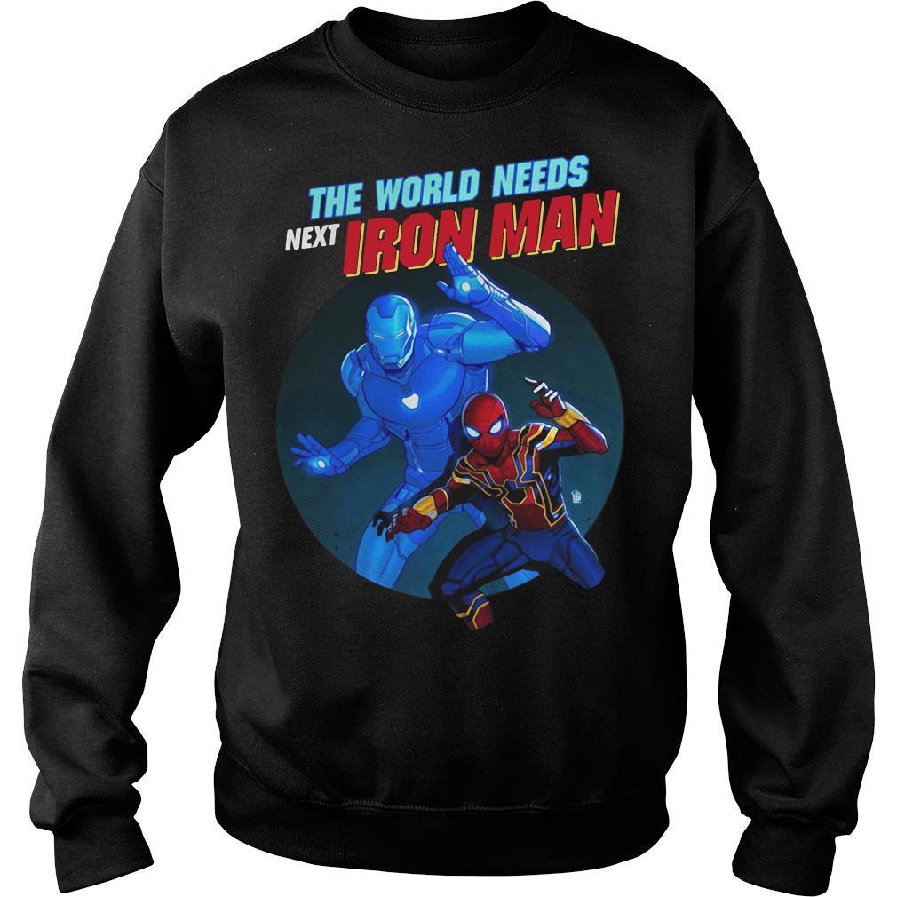 The World Needs Next Iron Man Shirt sweater