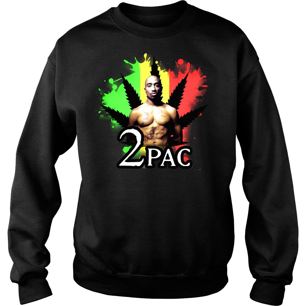 Weed 2pac Shirt sweater