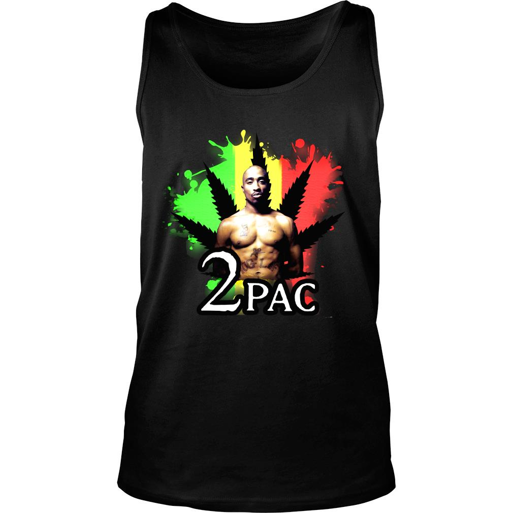 Weed 2pac Shirt tank top