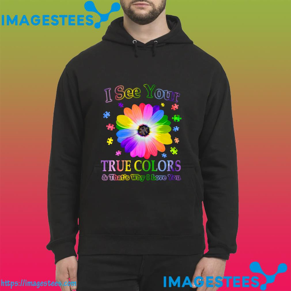 Autism Awareness I'm Her Voice She Is My Heart Happy World Autism Awareness Day Shirt hoodie