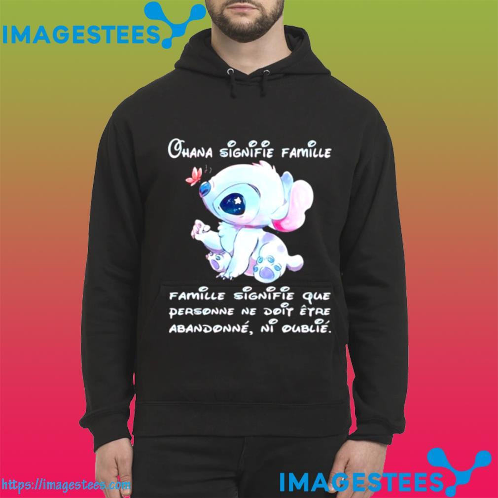 Chana Signifie Famillie Personne Ne Doit Stitch hoodie