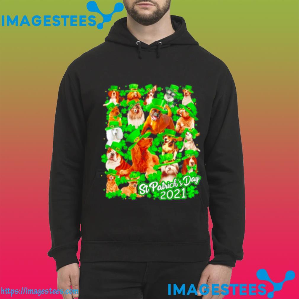 Dogs St Patricks Day 2021 hoodie