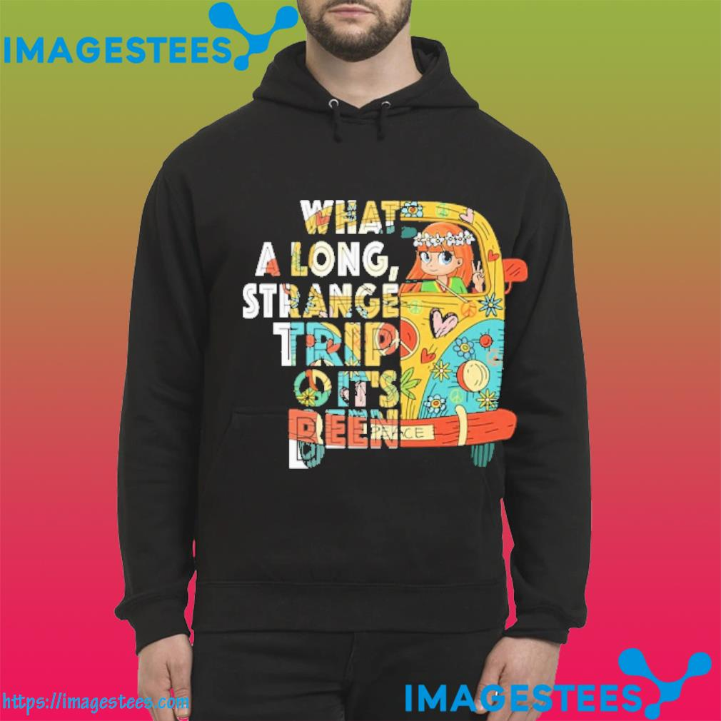 Girl driver what a long strange trip it's been hoodie