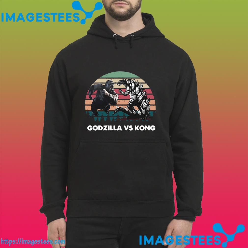 Godzilla Vs Kong Shirt - Godzilla Vs Kong 2021 Rodan Mothra Monster Vintage Shirt hoodie