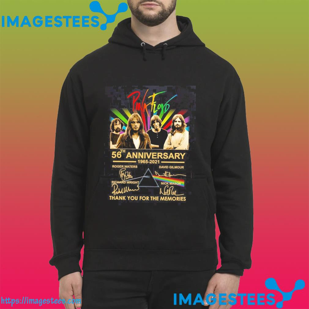 Pink Floyd 56th Anniversary 1936 2021 Signatures Thank You For The Memories Shirt hoodie