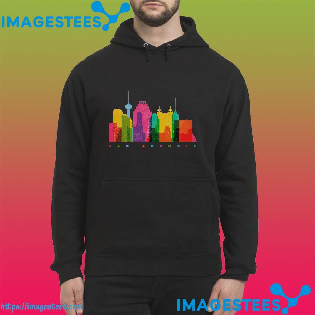 San Antonio City Skyline Shirt hoodie