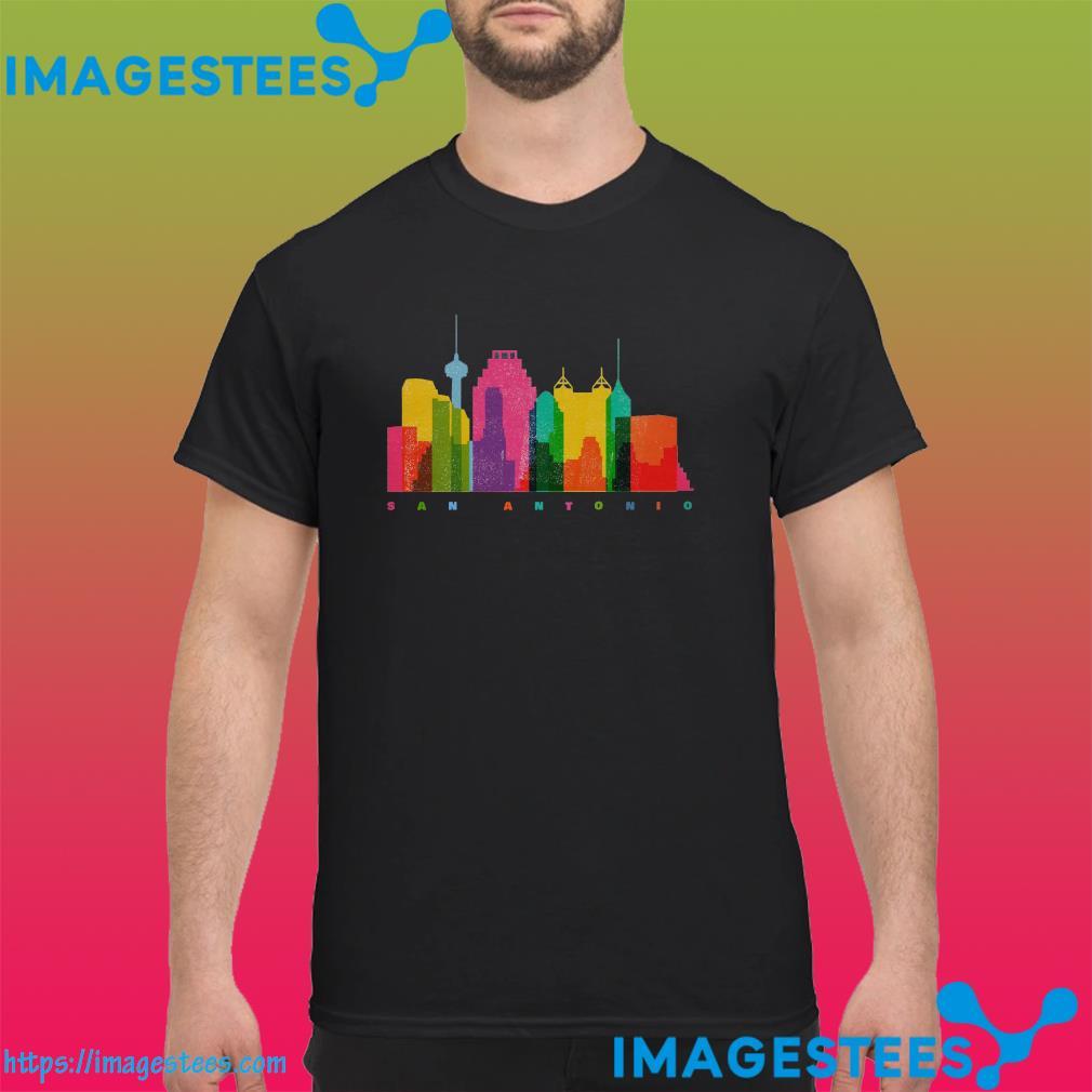 San Antonio City Skyline Shirt