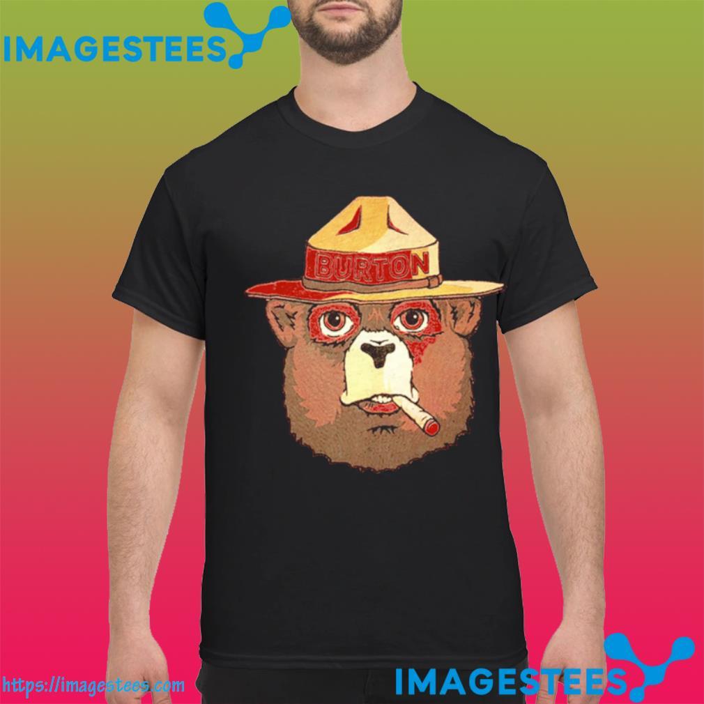 Smokey the bear smoking shirt