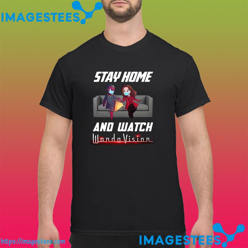 Stay Home And Watch Wandavision The Unusual Couple Shirt