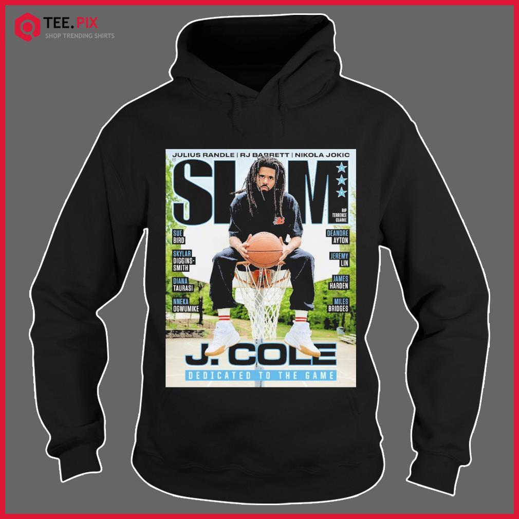 SLAM J. Cole DEdicated To The Game Shirt Hoodie