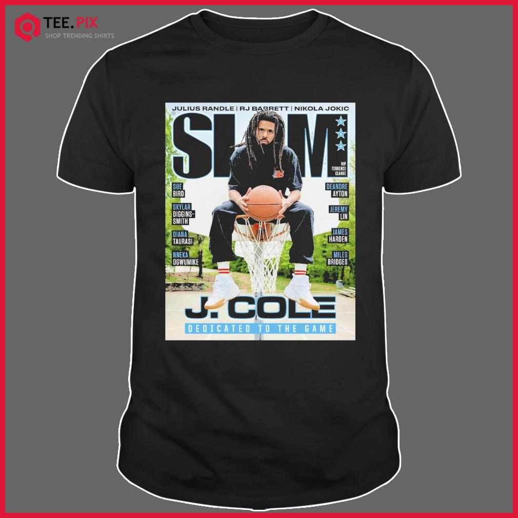 SLAM J. Cole DEdicated To The Game Shirt