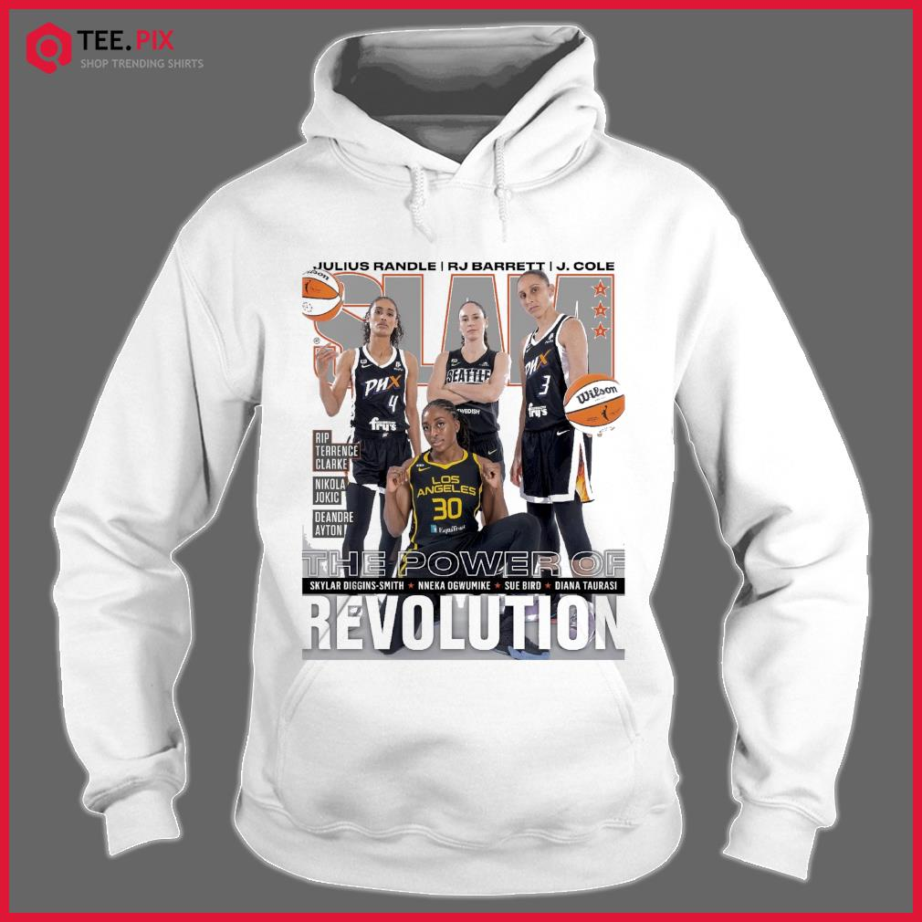 SLAM Skylar, Nneka, Sue Diana June, July 2021 Revolution Shirt Hoodie
