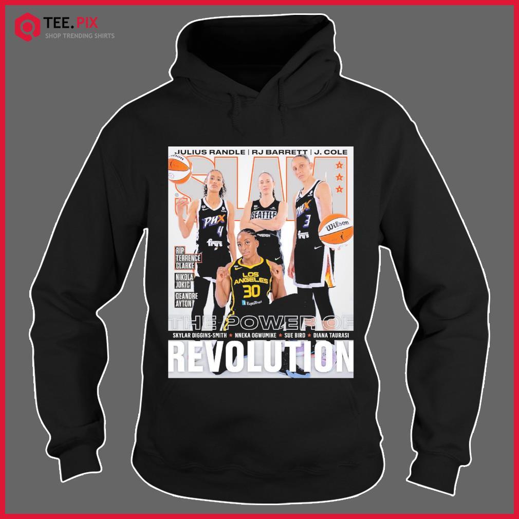 SLAM The Power Of Skylar, Nneka, Sue Diana Revolution Shirt Hoodie