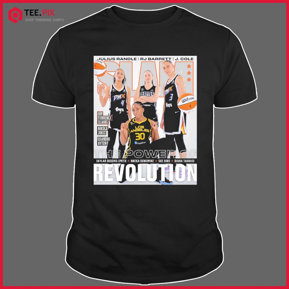 SLAM The Power Of Skylar, Nneka, Sue Diana Revolution Shirt