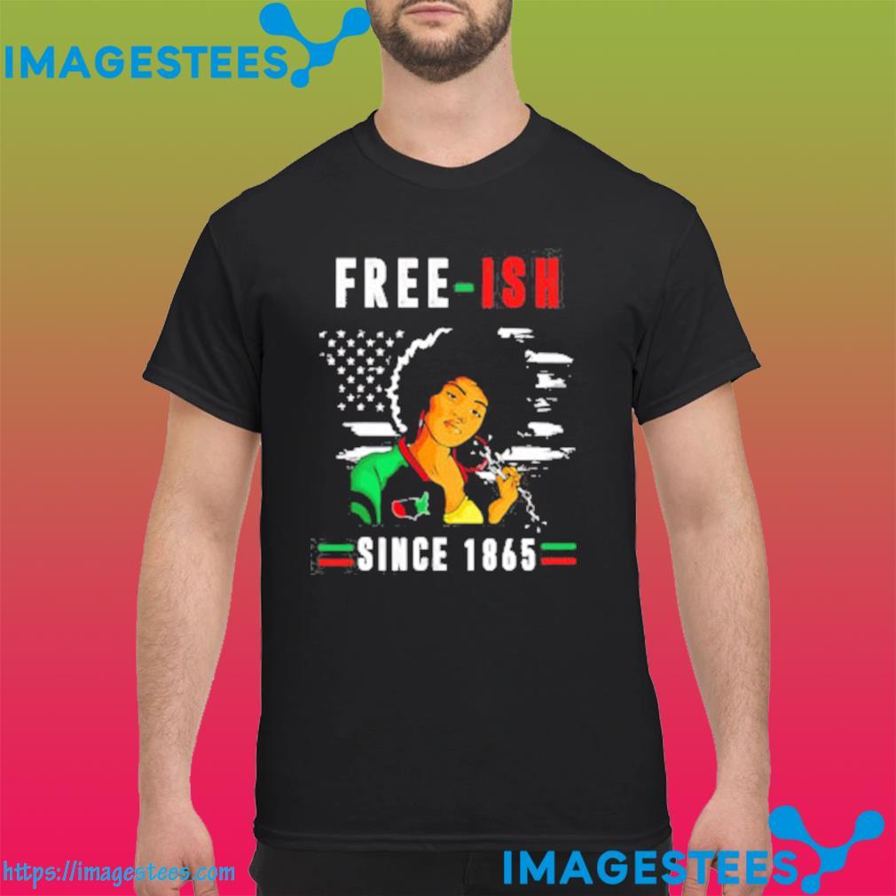Juneteenth Free-ish Since 1865 Black Pride Juneteenth Classic Tshirt