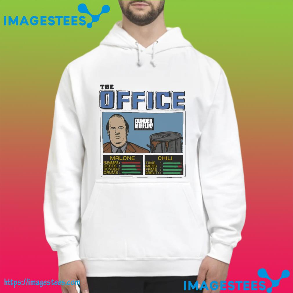 The Office Kevin Malone And Chili Shirt hoodie