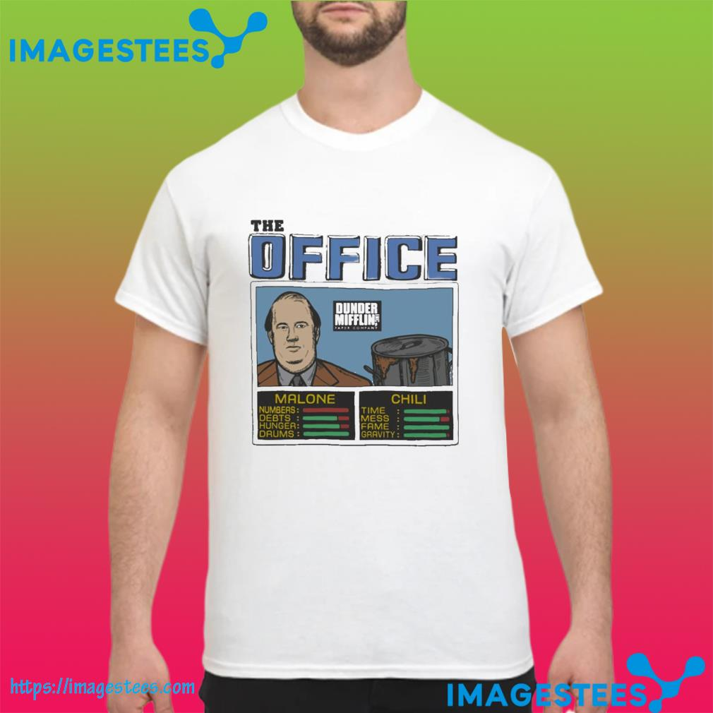 The Office Kevin Malone And Chili Shirt